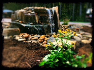 Custom Pondless Fountain