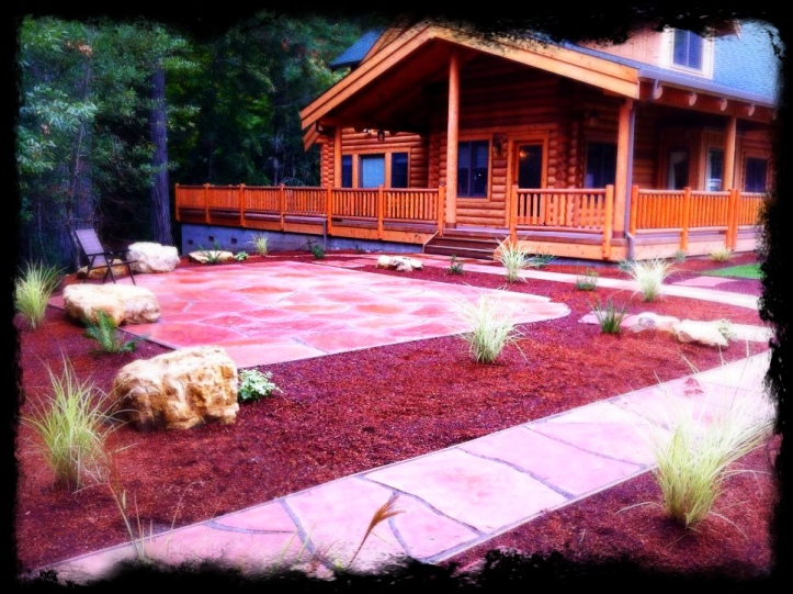 Flagstone Patio and Walkway