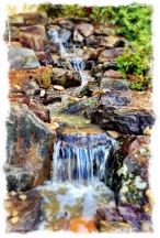 Naturalistic Waterfall