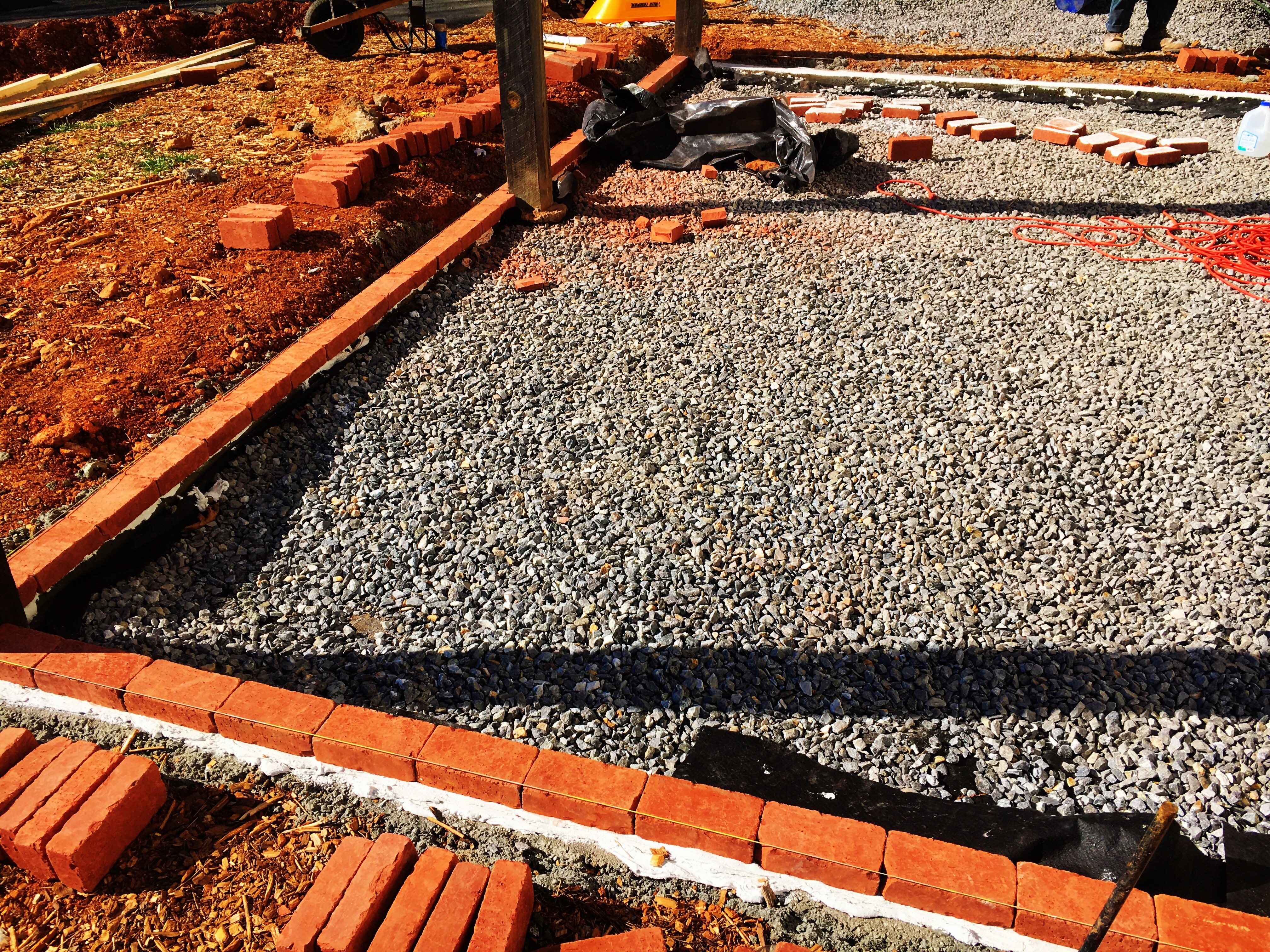 Asheville Landscaping: flagstone patio